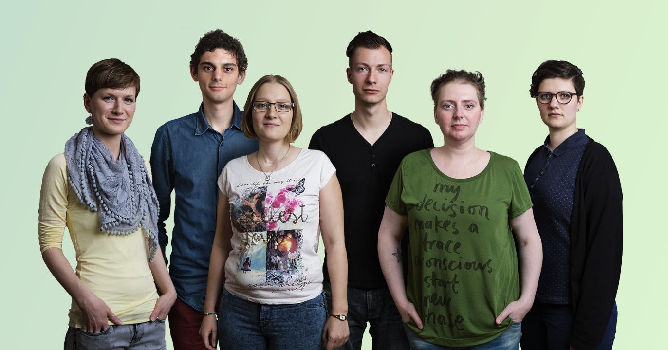 junger erwachsener website